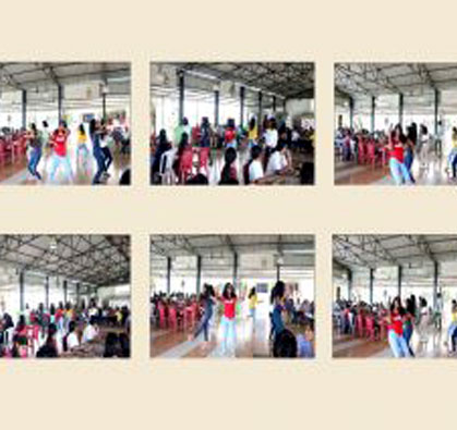 Flash Mob – a Surprise Performance From Students at Midas Canteen, on 10 Aug 2018