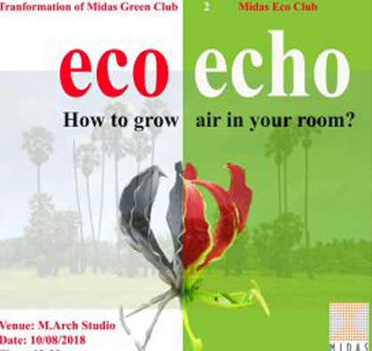 How to Grow Air in Your Room, organised by Eco Club, on 10 Aug 2018