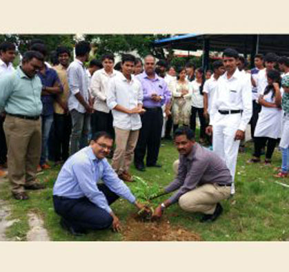 NSS Orientation Day – Tree Planting, on 14 Aug 2018