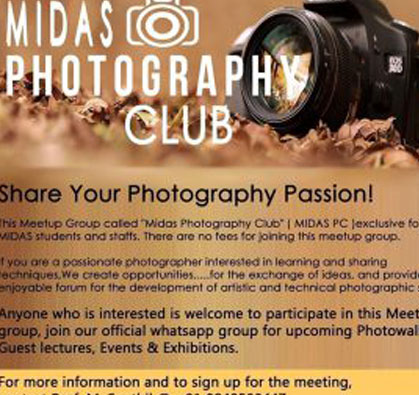 MIDAS Photography Club