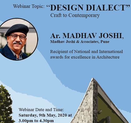 Webinar: Design Dialect Craft to Contemporary, on 09 May 2020 / 03:00 PM - 04:30 PM