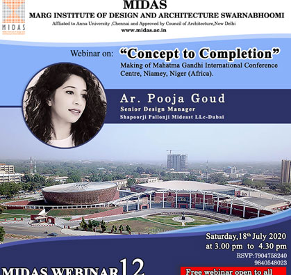 Webinar: 'Concept to Completion', on 18 Jul 2020 / 03:00 PM - 04:30 PM