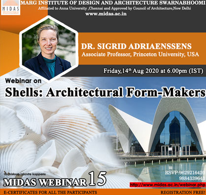 Webinar: Shells - Architectural Form Makers, on 14 Aug 2020 / 06:00 PM - 07:30 PM